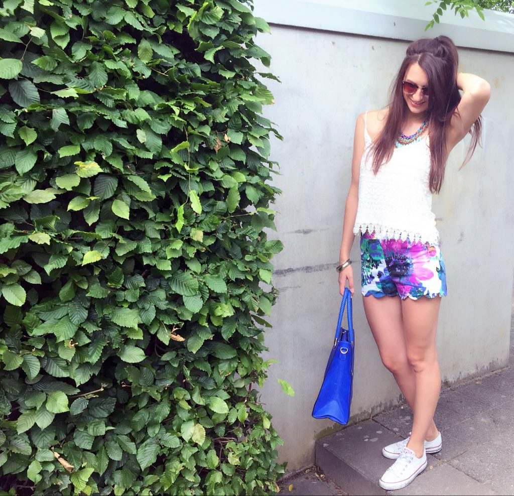 Shorts Flora