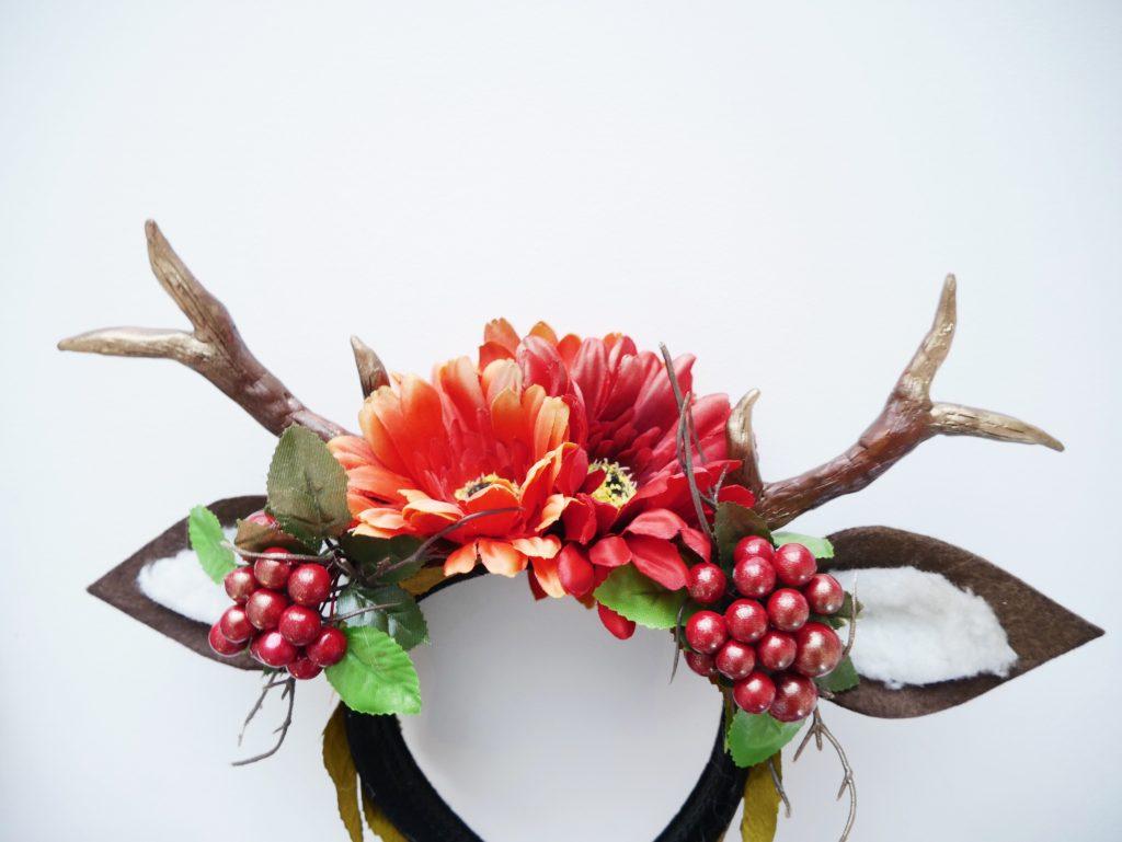 DIY Bambi Kostüm - Tutorial - Das Geweih