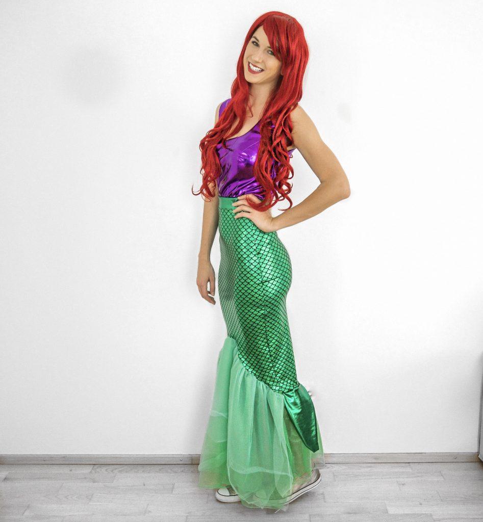 Meerjungfrau Kostüm nähen