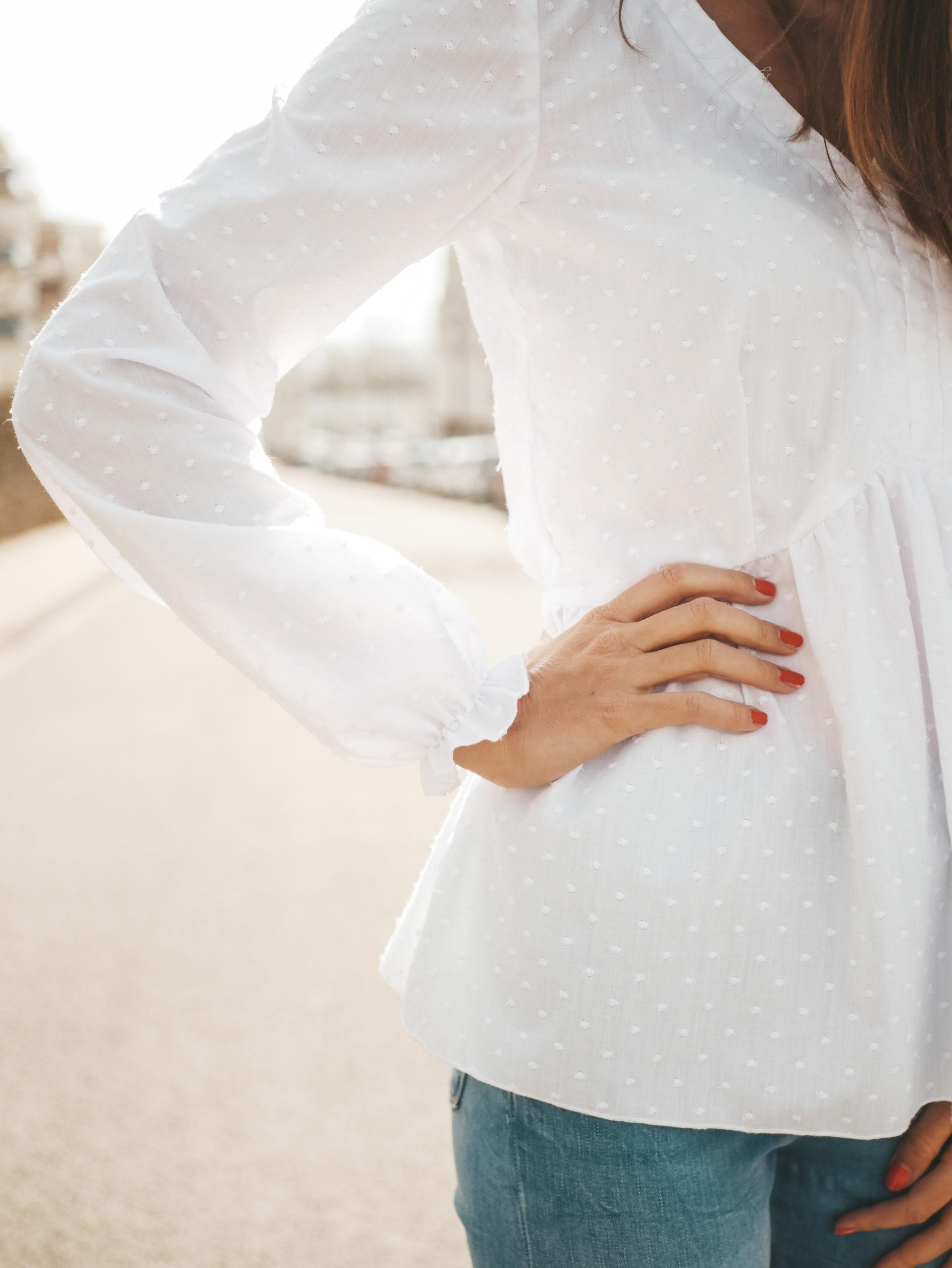 Boho-Bluse Valentina Detailaufnahme Ärmel