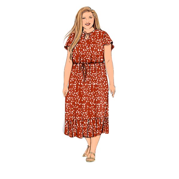 Schnittmuster Sommerkleid Chiara