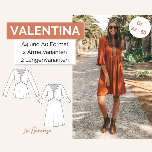 Schnittmuster Kleid Valentina
