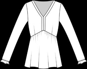 Schnittmuster Kleid Valentina La Bavarese