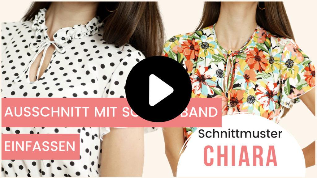 Ausschnitt mit Schrägband einfassen Chiara La Bavarese