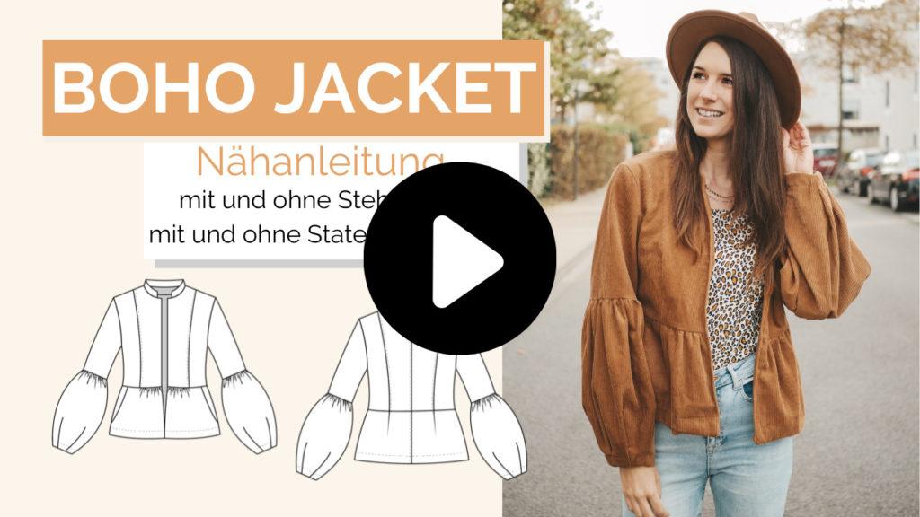 Schnittmuster Boho Jacket La Bavarese