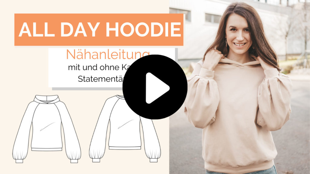 Schnittmuster All Day Hoodie La Bavarese