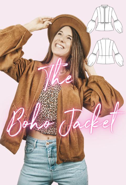 Schnittmuster Boho Jacke the Boho Jacket La Bavarese