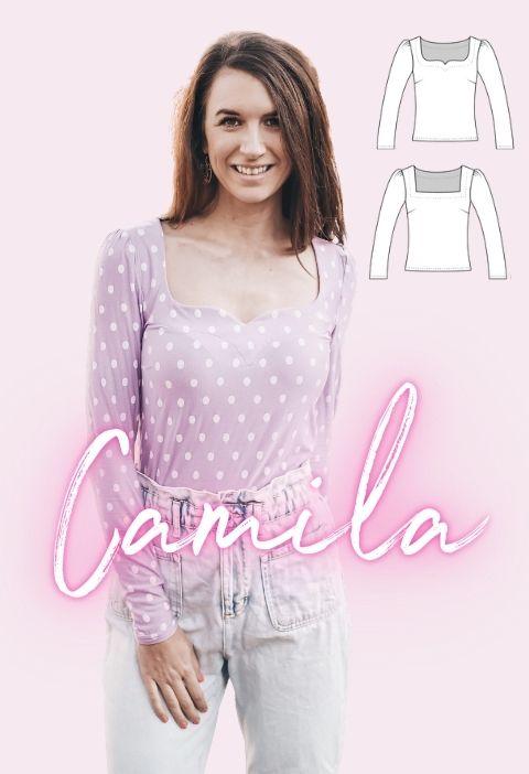 Schnittmuster Camila La Bavarese