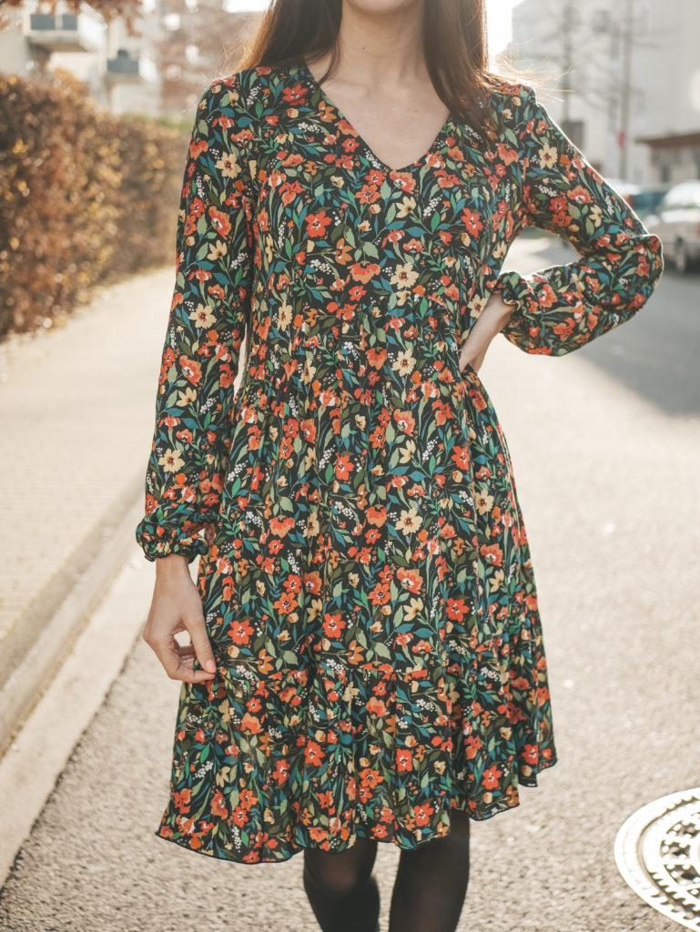 Schnittmuster Kleid Valentina Patternhack