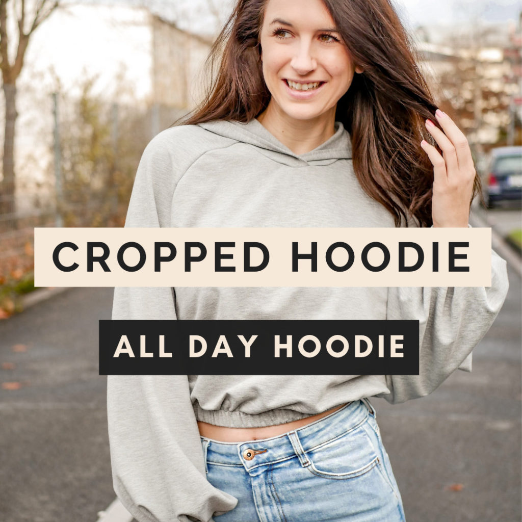 cropped Hoodie Patternhack All Day Hoodie