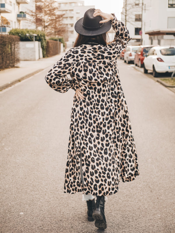 Hemdblusenkleid Olivia Schnittmuster Damen