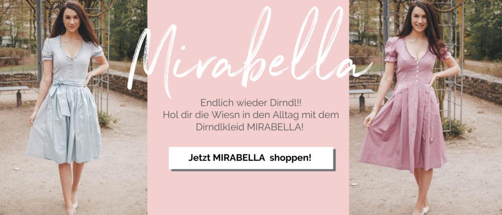Schnittmuster Dirndlkleid Mirabella La Bavarese