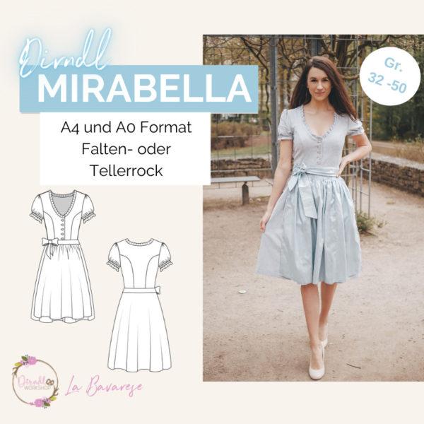 Dirndlschnittmuster Mirabella