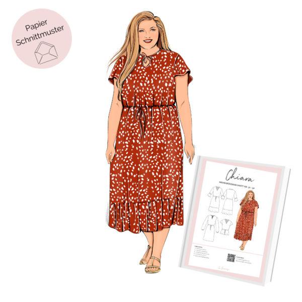 Papierschnittmuster Sommerkleid Chiara La Bavarese